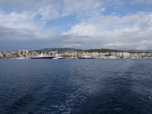 Ausfahrt Hafen Palma