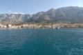 wir verlassen Makarska