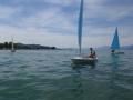 erste Kurse auf dem Wasser
